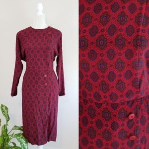 VTG Liz Claiborne Silk Dress